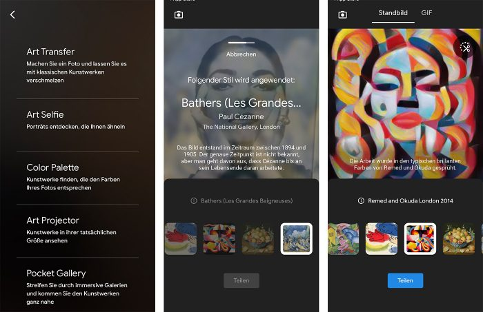 Google Arts And Culture Art Transfer
