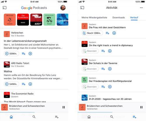 Google Podcasts App Ios