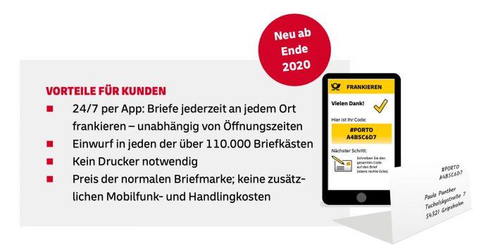 Mobile Briefmarke Kundenvorteile 1