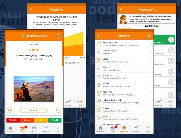 Mosalingua Iphone App Premium