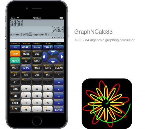 Taschenrechner Graphncalc83
