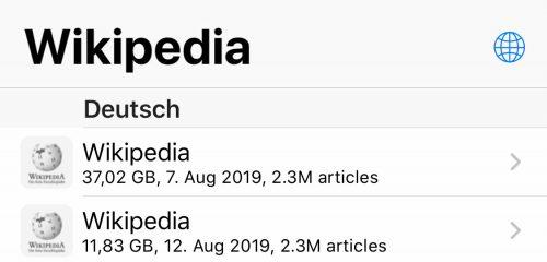 Wikipedia Deutsch Download