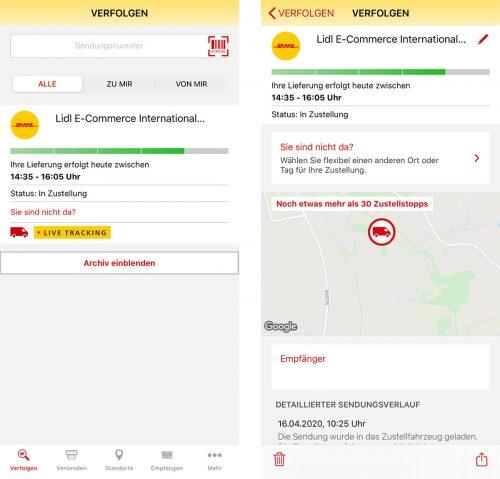 Dhl App Live Tracking