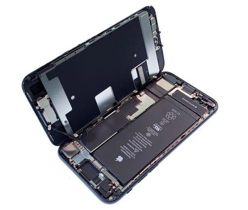 Iphone Se Teardown Aufgeklappt