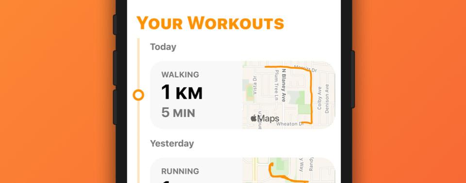 OutRun: Eine Lauf- und Fahrrad-App wie von Apple gemacht