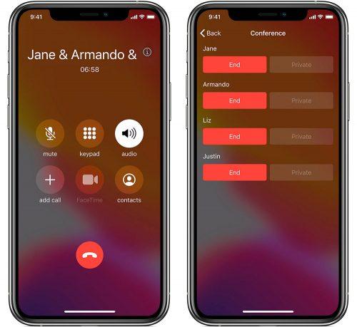 Telefonkonferenz Mit Dem Iphone