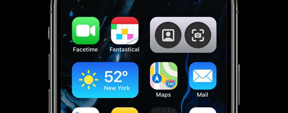 So in etwa: iOS 14 in ersten Design-Konzepten