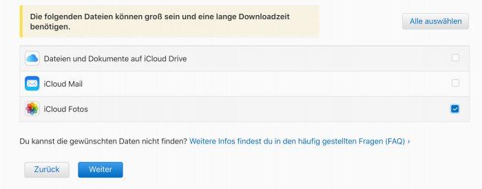 Alle Dateien Icloud Download