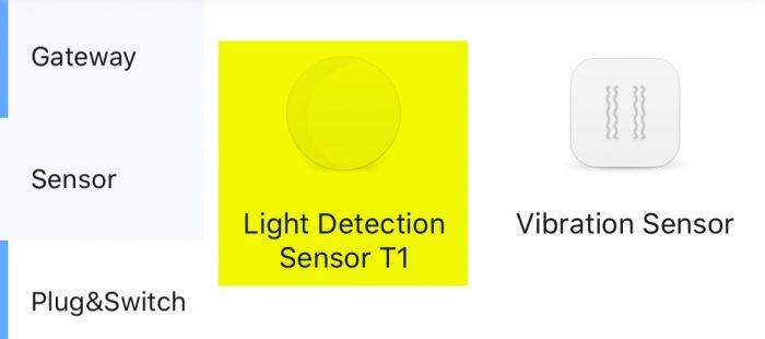 Aqara Licht Sensor Homekit