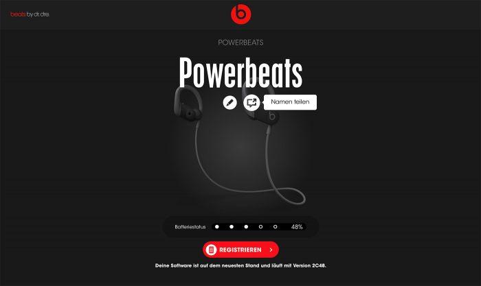 Beats Software Update Installieren