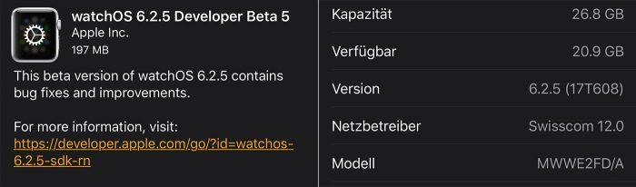 Beta Update Watchos Build