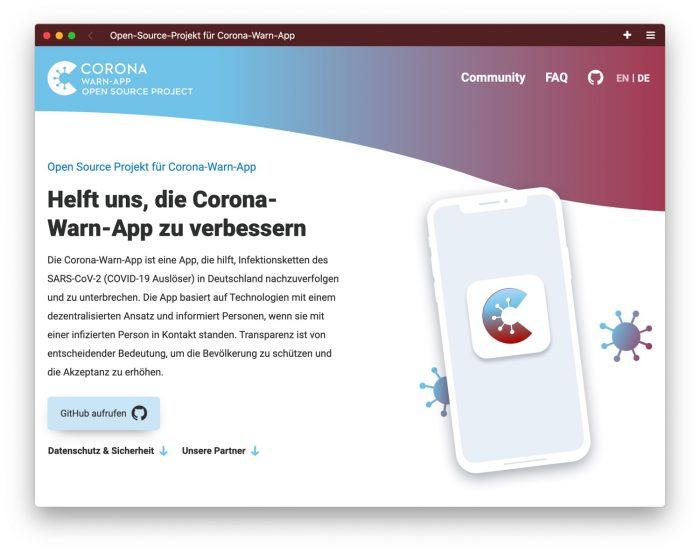Coronawarn.app