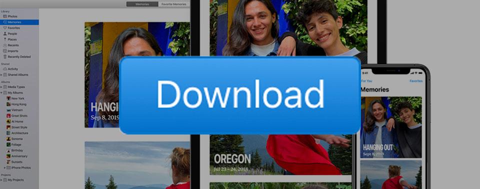 Tipp: Alle iCloud Fotos herunterladen