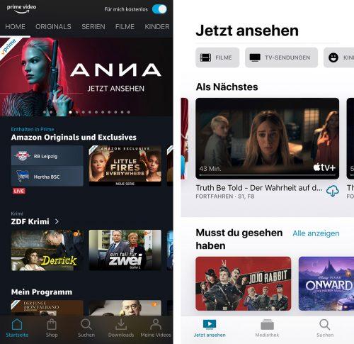 Prime Video App Vs Apple Tv App
