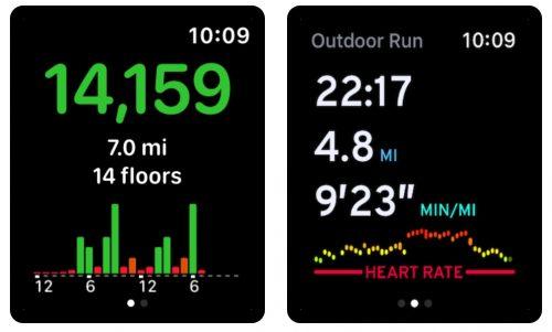 Schrittzaehler Apple Watch