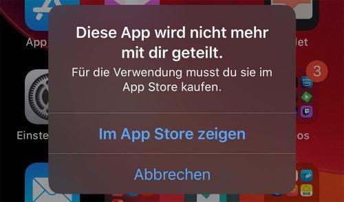 Whatsapp Diese App Wird Nicht Mehr Mit Dir Geteilt Fehler