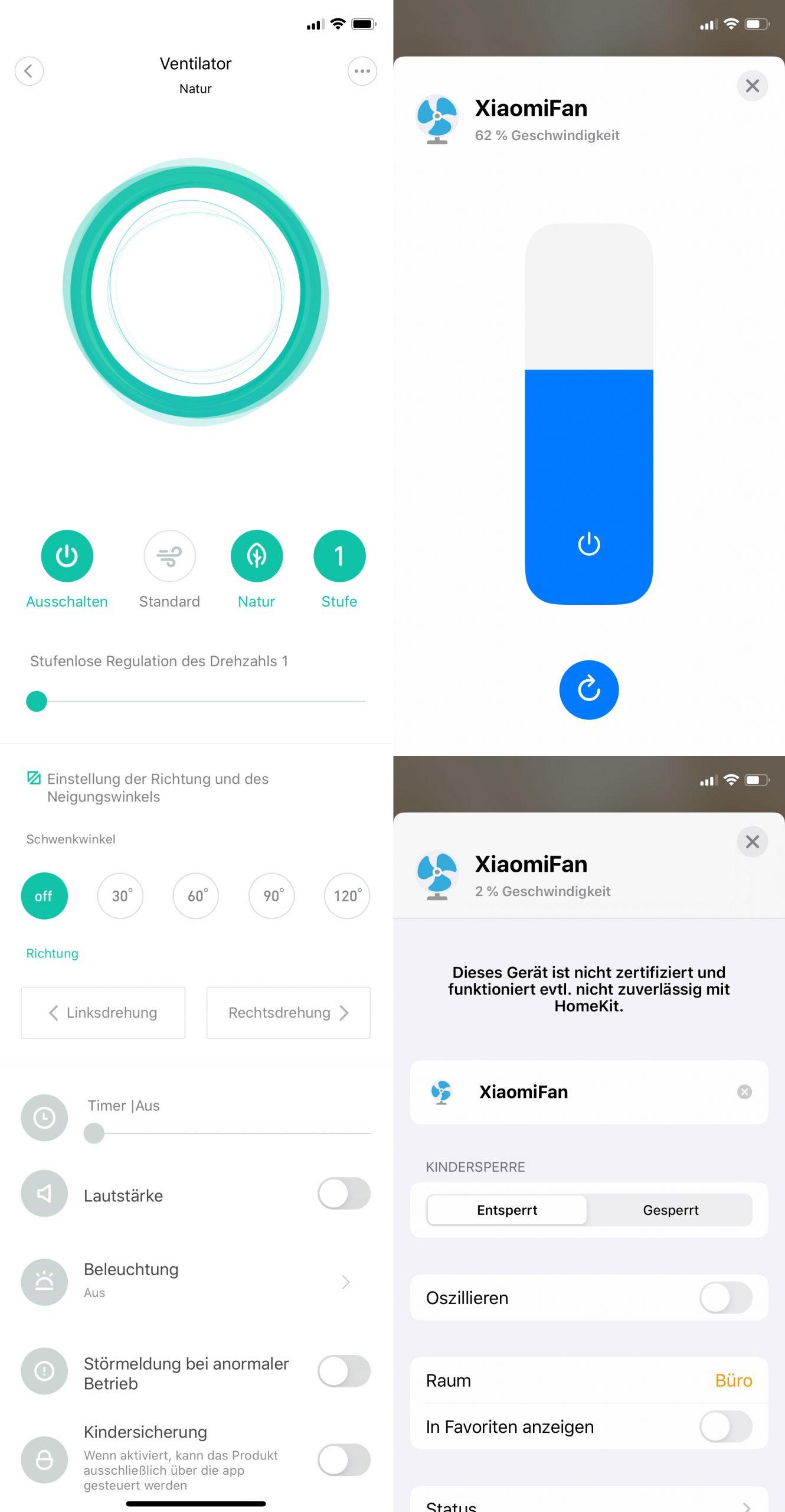 Xiaomi Homekit App
