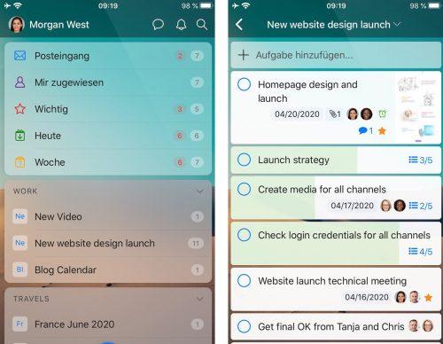Zenkit To Do Iphone App