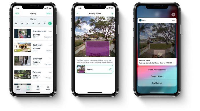 Arlo Video Doorbell Iphone App