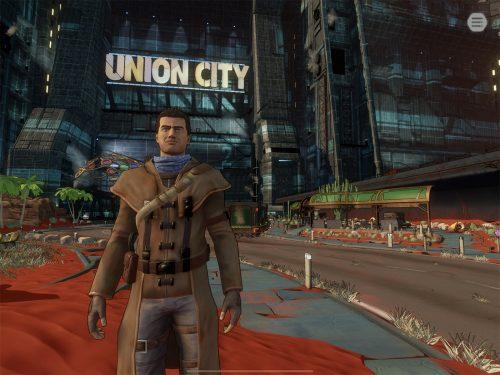 Beyond A Steel Sky Union City