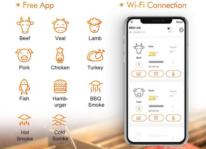 Inkbird IBBQ 4T App