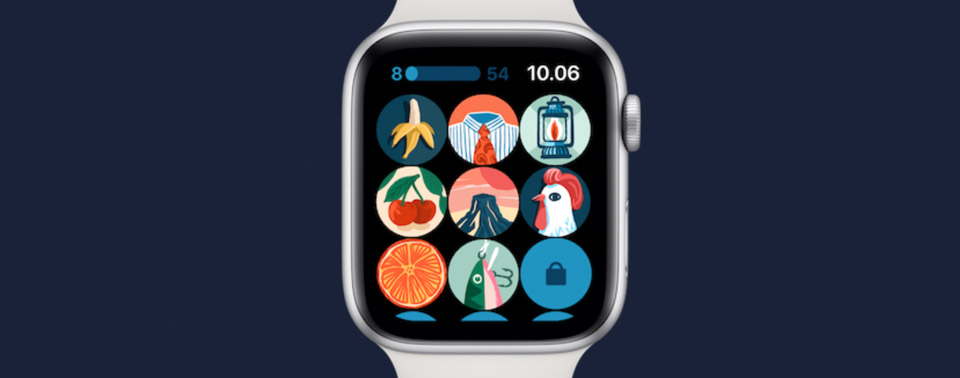 Stepics und Memory Moves: Fitness-Spiele für Apple-Watch-Träger