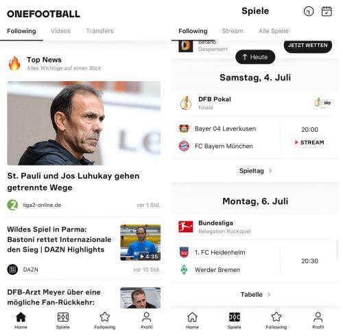 Onefootball App Iphone