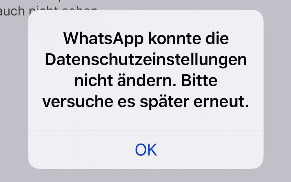 Online Anzeige Whatsapp