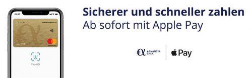 Advanzia Bank Apple Pay