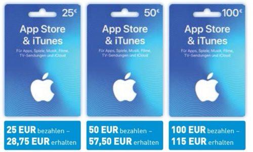 Apple Guthaben 15 Prozent Bei Aldi Nord