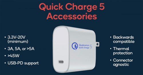 Qualcomm Quick Charge 5 Ladegeraet
