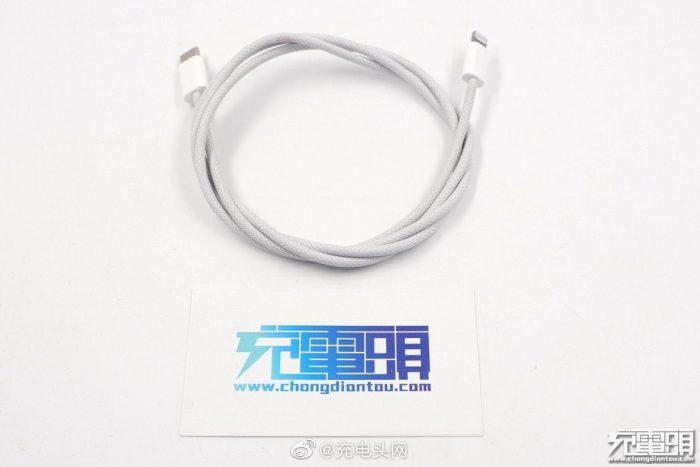 Textilkabel Iphone 12 1