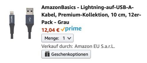 Amazonbasics Lightning Kabel