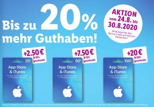Apple Guthaben Bei Lidl Mit Bonus