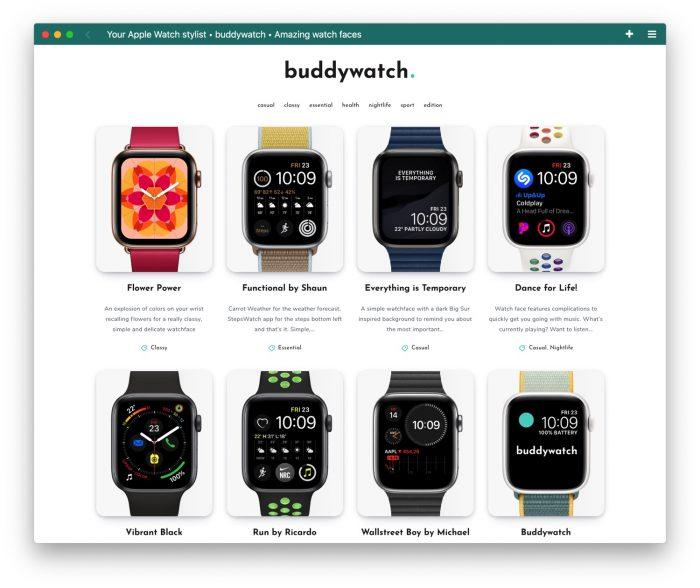 Buddywatch Zifferblaetter