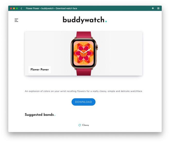 Buddywatch Zifferblaetter Single