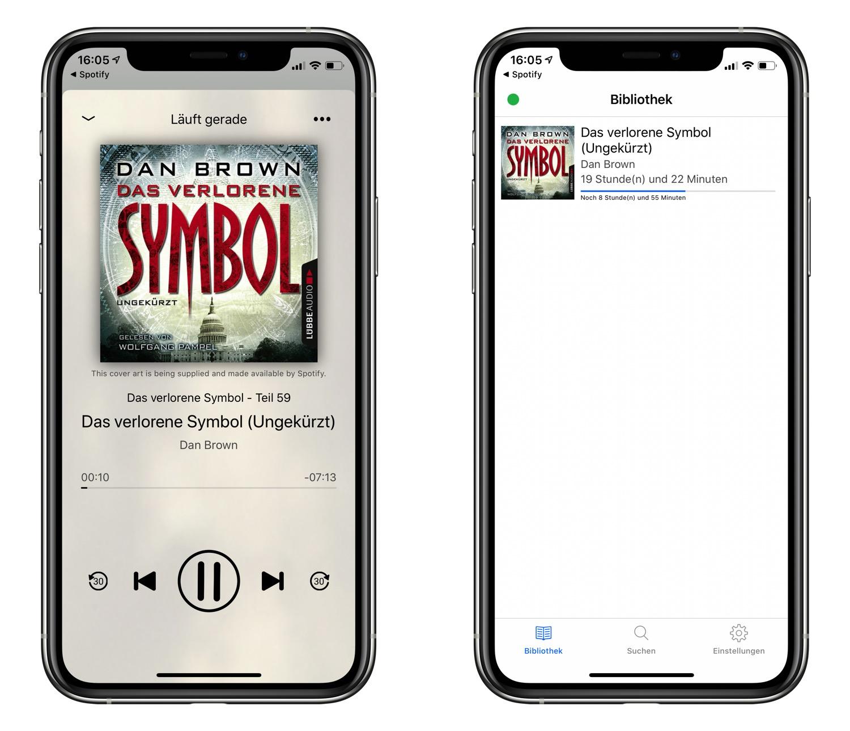 Hörbücher Spotify Empfehlung