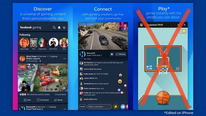 Facebook Spiele App