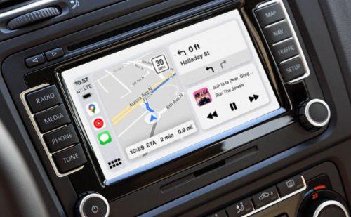 Google Maps Carplay Dashboard Ansicht