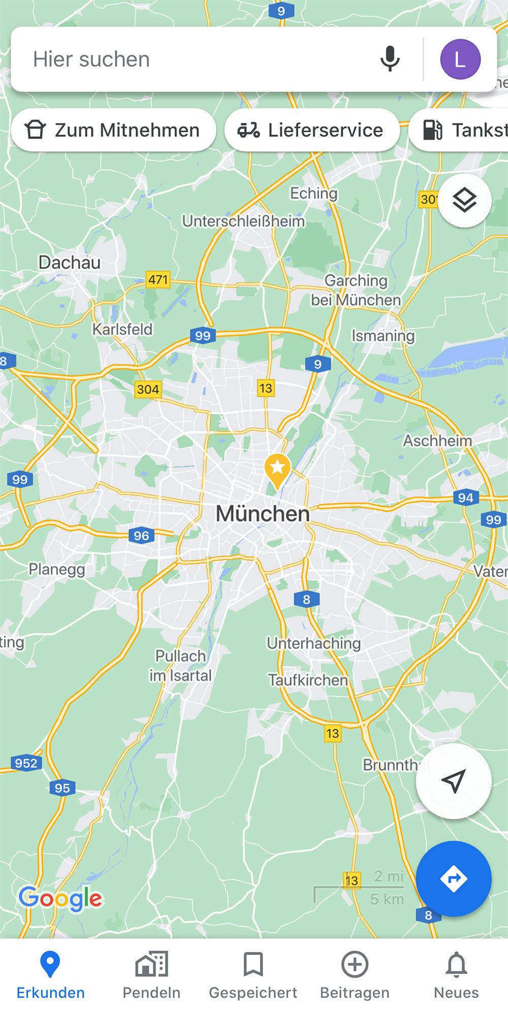 Google Maps Neue Karten Deutschland
