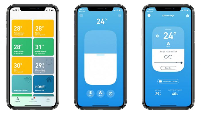 Tado App Klime