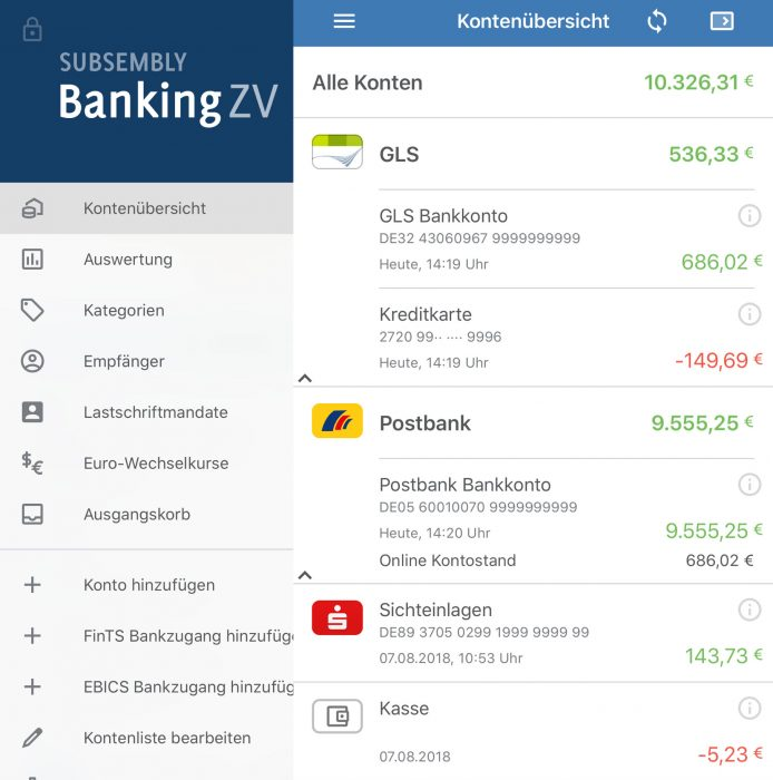 Bankingzv