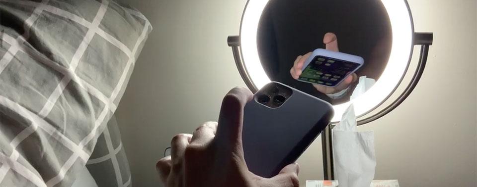 Iphone Rückseite Tippen