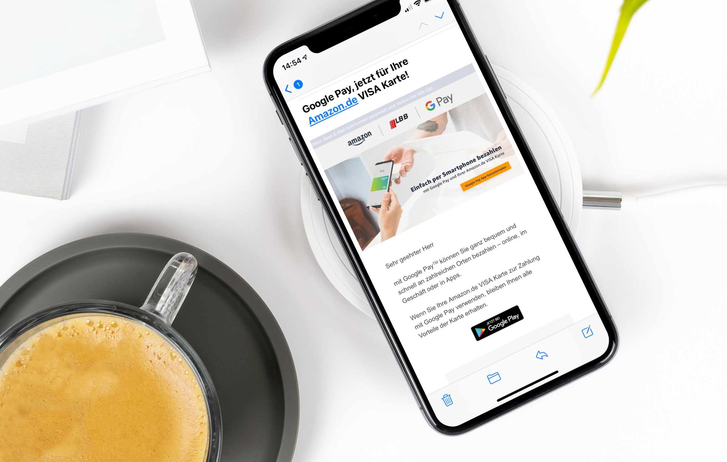 Amazon Kreditkarte App