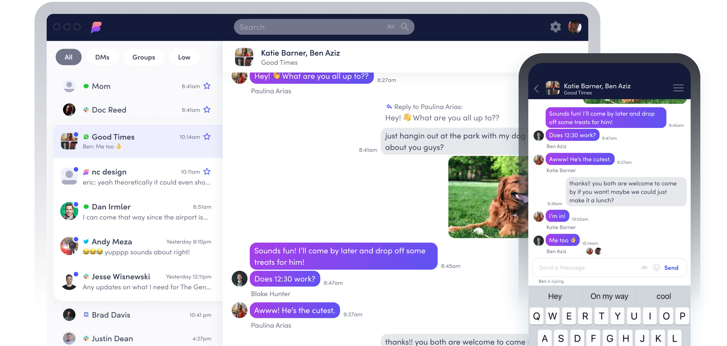 Beeper Multi Messenger verbindet WhatsApp, iMessage, Telegram ...