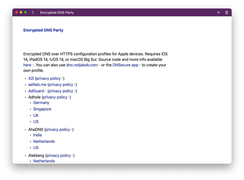 Eigene iPhone DNS-Server: WLAN-Ausnahmen, Generatoren ...