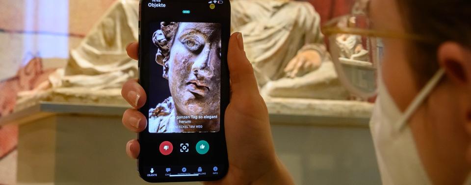 """Museums-App """"Ping! lädt zum Tinder-Match mit"""