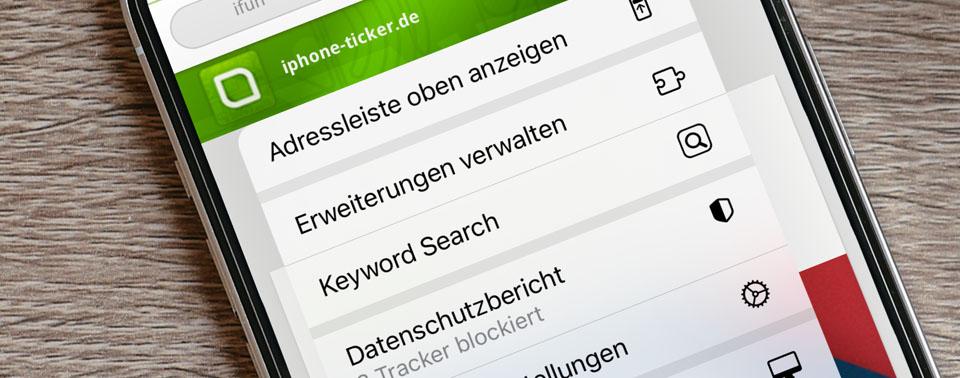 Geheimtipp Keyword Search: Safari-Sucherweiterung nun auch für iOS 15