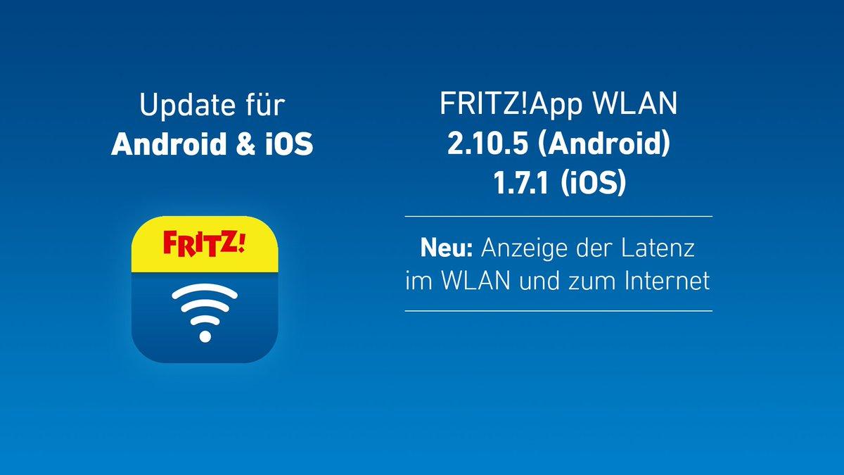 FRITZ!App WLAN: Neue App bestimmt Latenz im Heimnetz